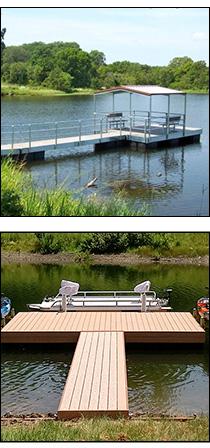 Pond Kind Floating Docks